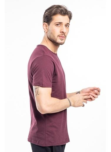 Slazenger Slazenger BEAT Erkek T-Shirt Pudra Bordo